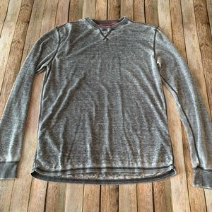 Quicksilver men's long sleeved waffle knit Tee